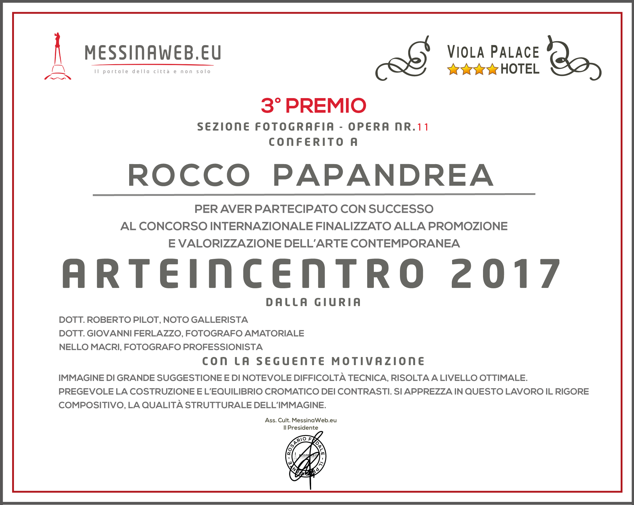 3PREMIO PAPANDREA