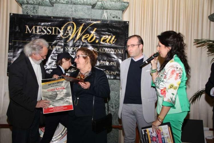"""Arti Applicate e Mestieri - Premio a Luigi Raffa """"tipografo"""" Messina"""