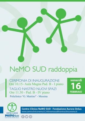 Il Centro Clinico NeMO SUD raddoppia i suoi posti letto.  A Messina vi è un luogo di assistenza e ricerca che - da ormai quasi 5 anni – si prende cura di persone affette da malattie neuromuscolari provenienti da tutto il Sud Italia.