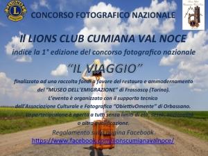 """CONCORSO FOTOGRAFICO NAZIONALE """"IL VIAGGIO"""" (1° Edizione)"""