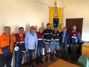 """22 aprile,  seconda  passeggiata  storico  culturale,  organizzata  dall'Associazione  Nazionale  Polizia  di Stato ,  sezione ,"""" Antonino D' Angelo di  Messina."""