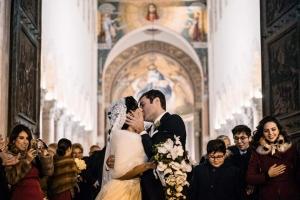 FAUSTO RISPOLI ED ELDA GATTO SPOSI a Messina