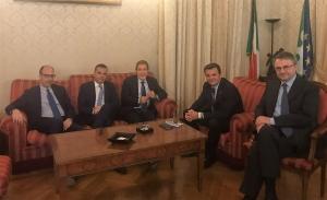 REGIONE: MUSUMECI INCONTRA A ROMA MINISTRO POLITICHE AGRICOLE