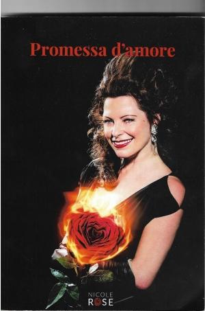 Nicole Rose con il suo romanzo da Parigi a  Roma ed in Sicilia.  10 luglio  all'Hotel Castello San Marco Charming&SPA Hotel Calatabiano ( Ct)