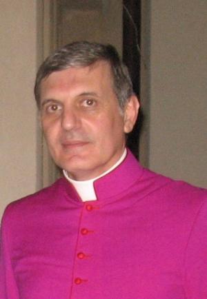 S.E. Mons. Santo Gangemi, Arcivescovo  nominato Nunzio Apostolico in El Salvador.
