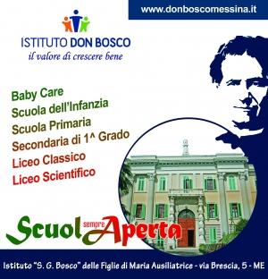 """La scuola """"Don Bosco"""" è una presenza che vive in Messina da quasi 100 anni"""