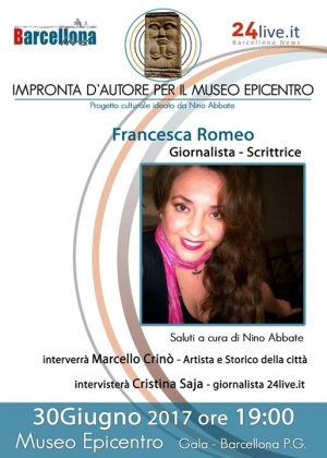 Barcellona Pozzo di Gotto: Francesca Romeo all'Epicentro di Gala per l'Impronta d'Autore