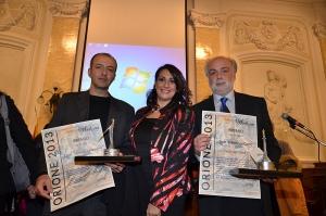 PREMIO ORIONE 2014 : riconoscimenti per la Magistratura, la Medicina, l'Arte, il Giornalismo, il Volontariato Sociale e per tutte le Forze Armate e di Polizia