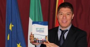 """Saro Lagana' pubblica il  Libro """"G7 2017 Taormina Capitale del Mondo"""""""