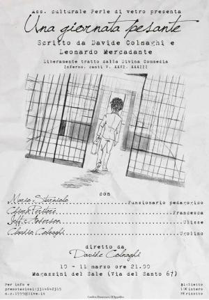 """Messina: """"Una giornata pesante"""", di Colnaghi e Mercadante, in scena ai Magazzini del Sale"""