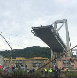LA TRACOTANZA DEL POTERE DETTA LE LEGGI. Il ponte Morandi di Genova un abuso sulle case abitate.
