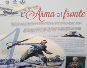 """Messina - Inaugurata la mostra """"La Grande Guerra dei Carabinieri""""."""