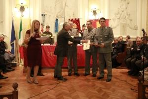 PREMIO ORIONE SPECIALE 2017 - Attestato di Benemerenza  conferito  Nucleo Operativo Provinciale dell'lspettorato Ripartimentale delle Foreste di Messina.