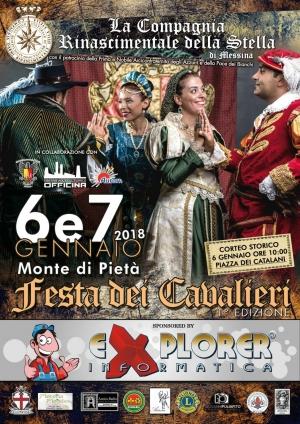 Messina - Presentazione della I° Edizione della Festa dei Cavalieri della Stella