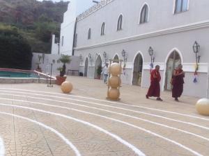 Amore divino del messinesi  Felis al Festival SICILY Tibet al PARCO DUCALE