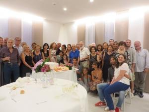 Franca Giordano ha compiuto 80 anni Istruttrice di ginnastica artistica e moglie dello scrittore Melo Freni