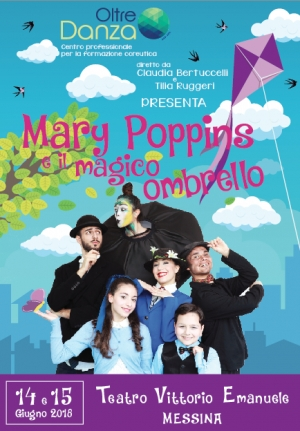 Mary Poppins e il magico ombrello