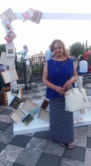 """""""Lu me'Sicilianu"""" di Flavia Vizzari al Taobuk con Edizioni del Poggio."""