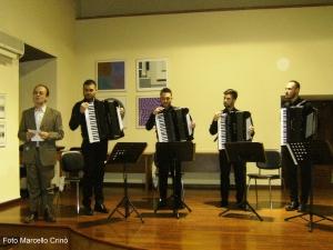 Barcellona Pozzo di Gotto: il quartetto di fisarmoniche per i concerti dell'associazione Mandanici