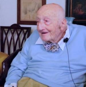 I 100 anni dell'insigne Prof. Aldo Giacomo Segre
