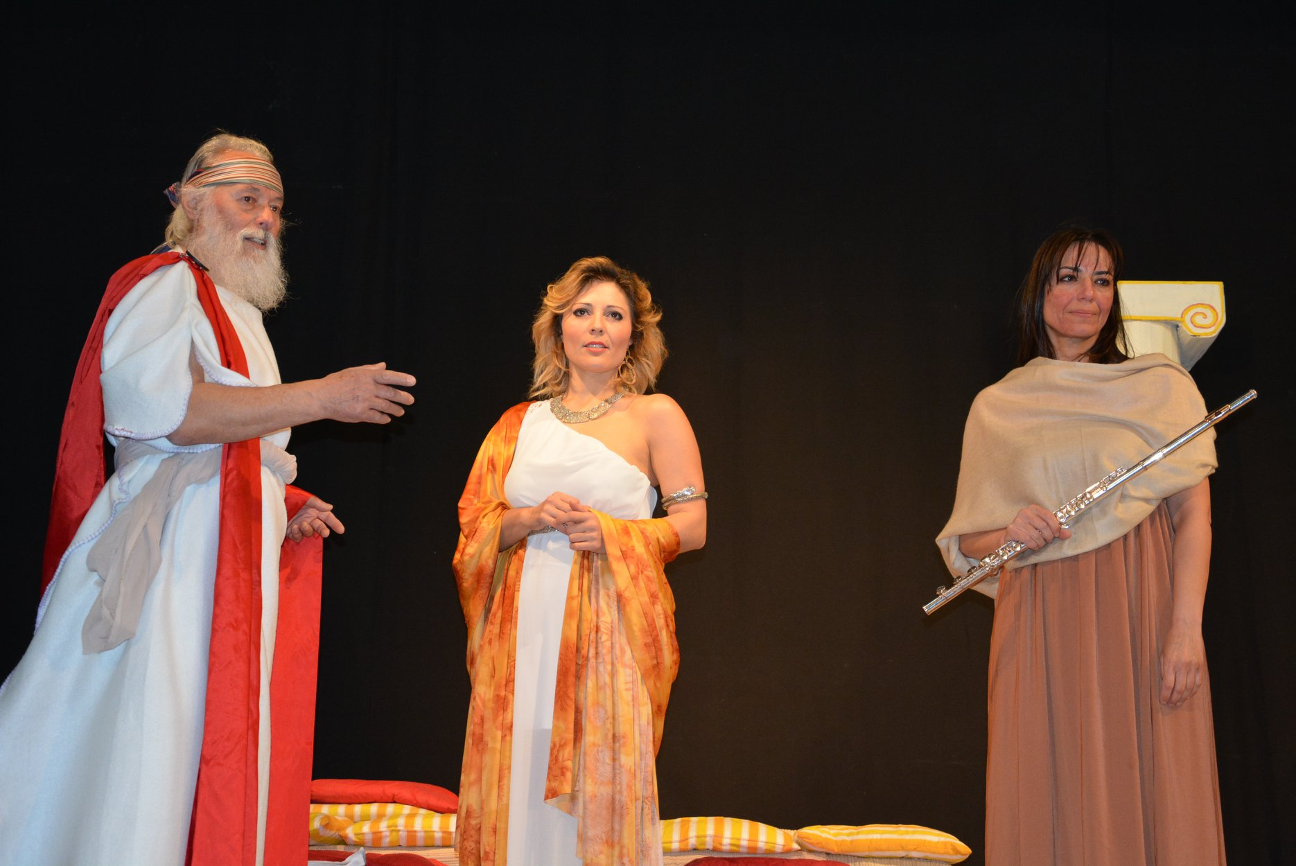 CON ROSEMARY E LAURA IN SCENA AL VALLI