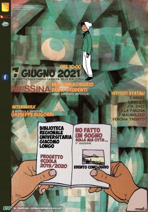 """Progetto Scuola 2019-2020 """"HO FATTO UN SOGNO SULLA MIA CITTA'..."""" Messina nell'immaginario degli studenti degli Istituti Superiori"""
