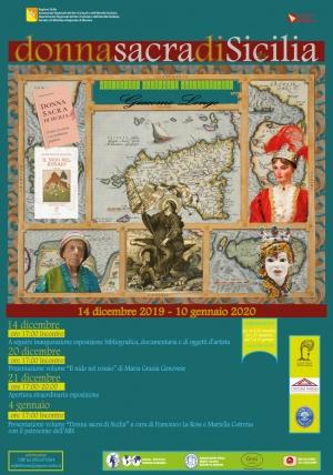 Evento Donna sacra di Sicilia- Biblioteca Regionale di Messina -  Presentazione libro:Il nido nel rosaio;- venerdì 20 dicembre 2019, ore 17