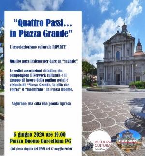 Barcellona Pozzo di Gotto: l'associazionismo culturale cittadino riparte da Piazza Duomo per dare un segnale di ripresa