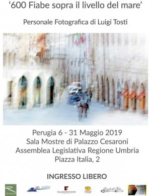Personale fotografica di Luigi Tosti a Perugia