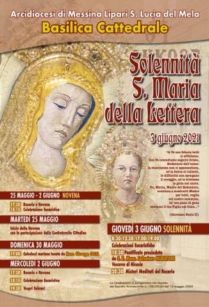 Solennità patronale della Madonna della Lettera