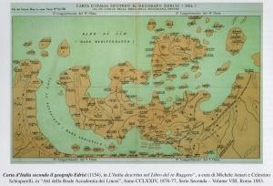 Barcellona Pozzo di Gotto: Tindaro Gatani ha illustrato per il Rotary Club la Carta del Mondo del geografo al-Idrisi