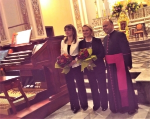 Messina- Chiesa di Santa Caterina Concerto di inaugurazione del nuovo organo Hauptwerk