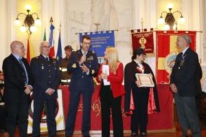 """Messina 6.12.2018 """"Premio Orione Speciale - conferito all' 11° REPARTO MANUTENZIONE VELIVOLI  dell'Aeronautica Militare Italiana."""