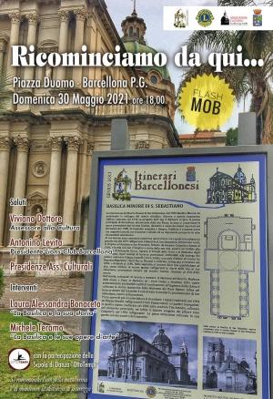 Barcellona Pozzo di Gotto: ricominciano le attività delle associazioni culturali con un evento in Piazza Duomo