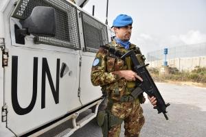 Missione UNIFIL: caschi blu italiani controllano la Blue Line.