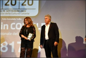 Meritatissimo premio per Videobank a Catania al Palacultura
