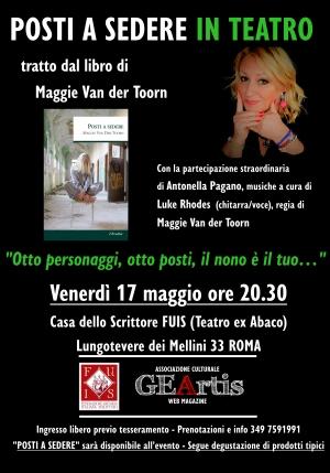 Food and Wine e ...Posti a sedere in teatro a Roma 17 maggio ore 21 al teatro FUIX EX ABACO