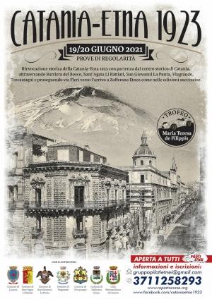 Al via la storica rievocazione della Catania – Etna 1923. Mercoledì 16 giugno la presentazione della manifestazione al Centro Direzionale Nuovaluce di Tremestieri Etneo