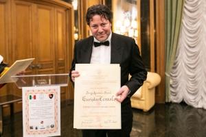 Consegnato ad Euristeo Ceraolo il XVI Premio Internazionale ISFOA alla Carriera e per il sociale