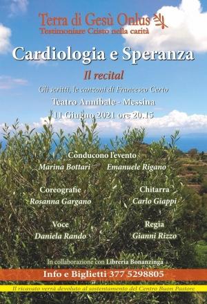 """Messina - 11 giugno all'Annibale il recital"""" Cardiologia e Speranza"""""""