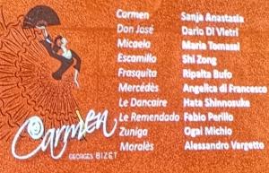 Grandioso successo della Carmen Opera Stars