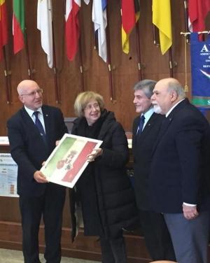 PREZIOSO CIMELIO DELLA GRANDE GUERRA DONATO AL MUSEO DI FORTE CAVALLI