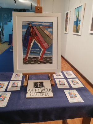 Mostra personale di Puccio all'arte Cavour Messina