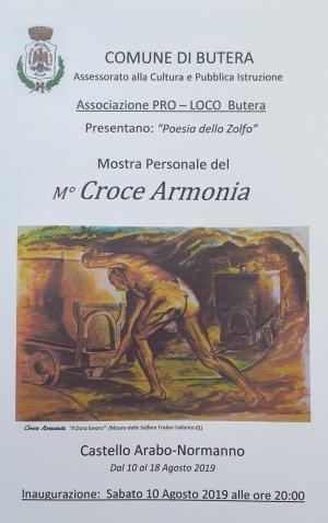 La civiltà mineraria narrata storicamente Attraverso la pittura dal maestro delle miniere Croce Armonia