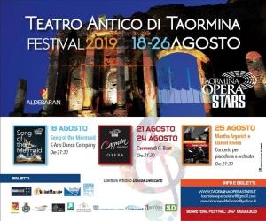Opera Stars a Taormina  18 21 24 25 agosto d' eccellenza