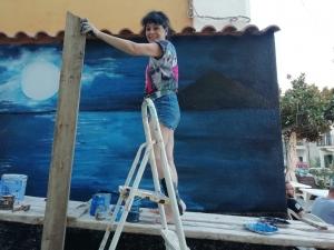 Murales di Morena Meoni a Melito Porto Salvo