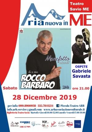 Al Teatro Savio 28 dicembre il Cabaret con Rocco Barbaro e ospite Gabriele Savasta