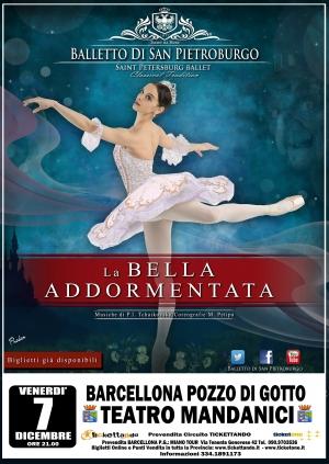 Barcellona Pozzo di Gotto: La Bella Addormentata al Teatro Mandanici