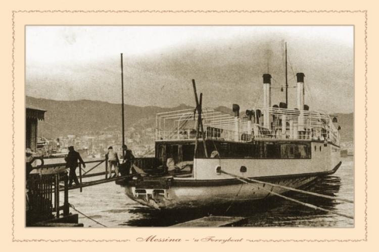 Messina - u ferryboat