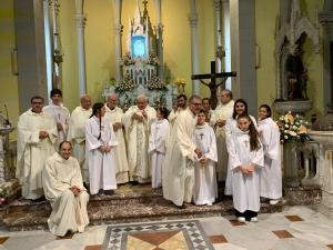 La comunità di Montalto ringranzia il Signore per gli 80 anni di don Lorenzo Campagna